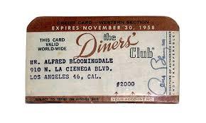 Así nació la tarjeta de crédito como medio de pago