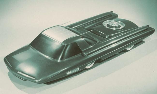 IMAGEN: Ford Nucleon el coche atómico  Fuente: Motorpasion.com