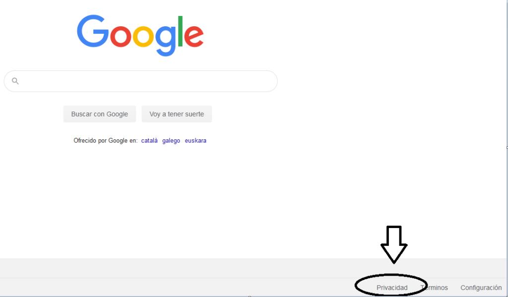 ¿Cómo solicitar el derecho al olvido de Google?