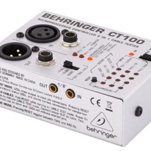 BEHRINGER CT100 COMPROBADOR CABLES DE AUDIO