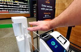 Amazon One y pagar con la palma de la mano.
